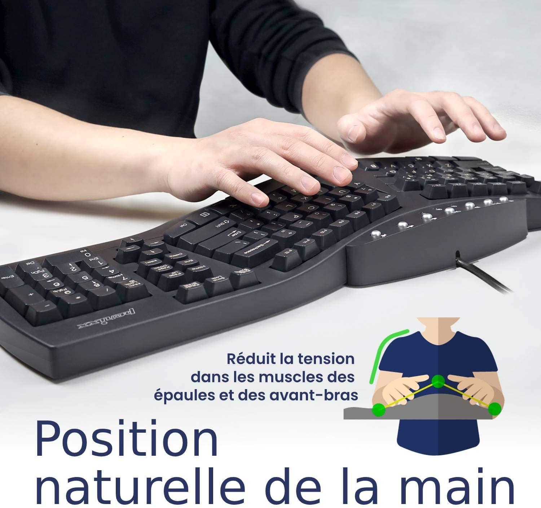 Comment fonctionne une un clavier ergonomique exactement?