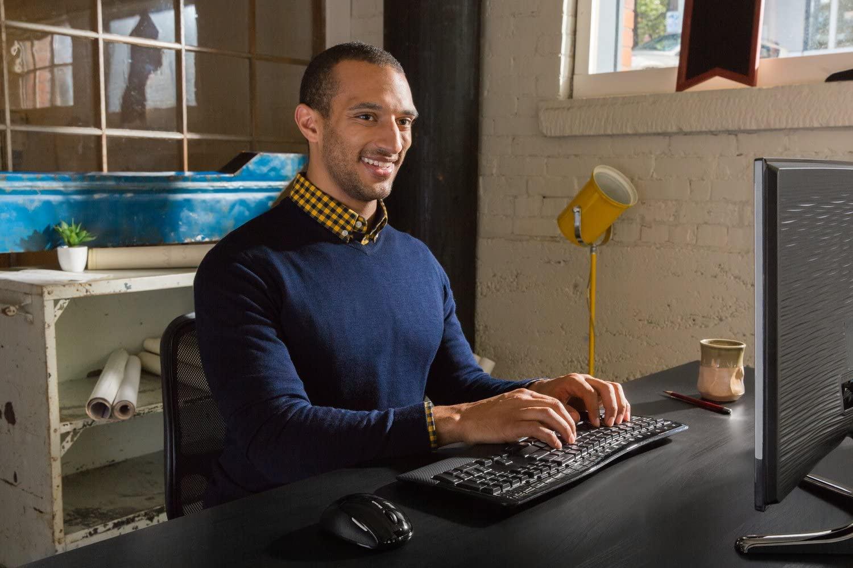 Testés la largeur des claviers ergonomiques ?