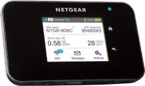 Évaluation de routeur 4G NETGEAR sim box 4G LTE Nighthawk M1 (MR1100)