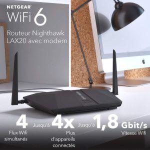 Tester le routeur 4G selon le nombre d'antennes