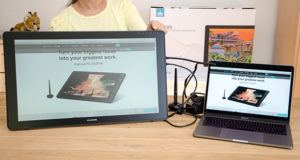 Qu'est-ce qu'une tablette graphique avec écran ?